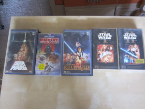 My Star Wars videos